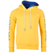 """Top Gun Hoodie Sweatshirt """"Logo Sleeve"""" Gelb"""
