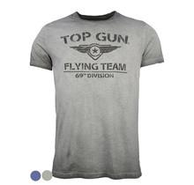 "Top Gun T-shirt, round neck made of cotton ""Flying Team"""