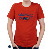 Napapijri ® Kurzarm T-Shirt, Flag