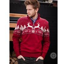 """Pull Dale of Norway ® """"Reindeer"""" Rouge"""