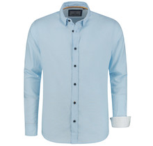 Chemise Oxford Polo Berlin, bleu clair