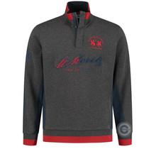 "La Martina ® Sweatshirt ""St. Moritz"", Donkergrijs"