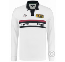 La Martina ® Polo Sweatshirt NYC Tribe, Weiß