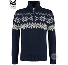 """Dale of Norway ® Pullover """"Myking"""" Donkerblauw"""