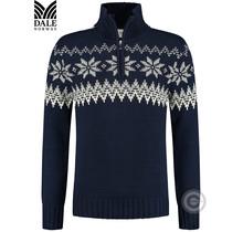 Pull Dale of Norway ® «Myking» bleu foncé
