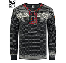 "Dale of Norway ® Pullover ""Setesdal Barnegenser"" Zwart"