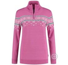 Pull femme Kama ® Nordic Merino, rose