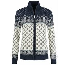 Cardigan tricoté pour femmes Kama ® Windstopper®, marin
