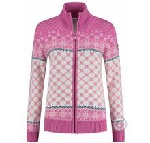 Kama ® Damen Strickjacke Windstopper®, Pink