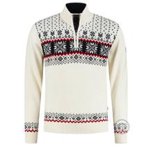 Kama ® Herren Pullover Merino, elfenbeinfarben