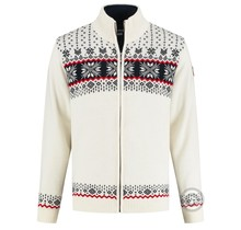 Kama ® Men´s knitted sweater Windstopper®, off-White