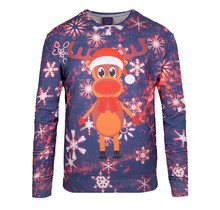 "Rudy Land ® Pullover Sweatshirt ""Blue Snow"""