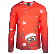"Rudy Land ® Pullover Sweatshirt ""Starry Red"""