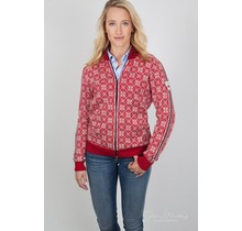 "Dale of Norway ® ""Frida"" Dames Vest, rood"