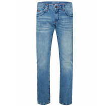 Camp David ® Jeans with Contrast Bar Regular Fit Stone Used