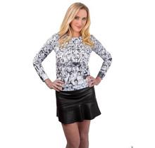 """Anne Hill ® """"die Menge"""" Sweatshirt, Schwarz/Weiß"""