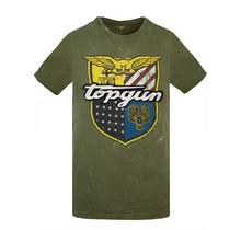 """Top Gun ® T-shirt """"Insignia"""" groen"""