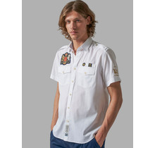 "La Martina Shirt ""Poloplayer Gear"" Wit"