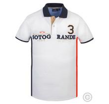 HV Polo, Heren Poloshirt Sotogrande Wit