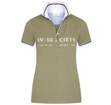 HV Polo Dames Poloshirt Society, groen
