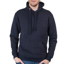 Sweatshirt met capuchon, donkerblauw
