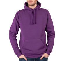 Sweatshirt met capuchon, paars