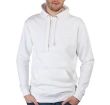 Sweatshirt met capuchon, wit