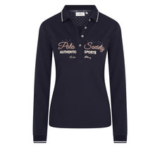 """HV Polo Polo Femme """"Authentic Sports"""" Bleu Foncé"""