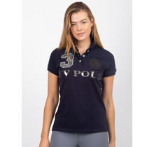 HV Polo Dames Poloshirt Luxe Donkerblauw