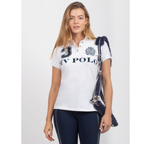 HV Polo Dames Poloshirt Luxe Wit