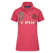 HV Polo Dames Poloshirt Luxe Pink