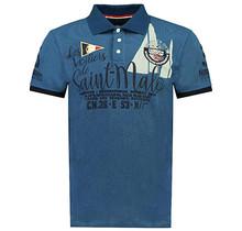 Geographical Norway ® Poloshirt Saint-Malo, Bleu