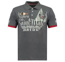 Geographical Norway ® Poloshirt Saint-Malo, grijs