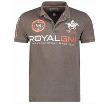 Geographical Norway® Royal GNX Polo-Shirt, Khaki