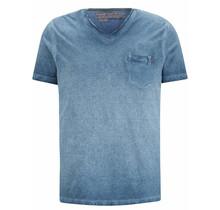 Camp David ® Streifen t-shirt Oil Dyed mit back print