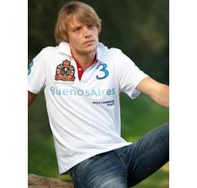 John Brilliant ® Poloshirt Buenos Aires, wit