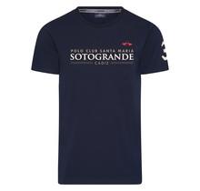 HV Polo, Herren T-Shirt Sotogrande Darkblue