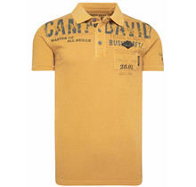 Camp David ® Poloshirt aus Pikee mit Label-Applikationen