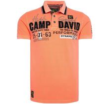 Camp David ® polo met surflabelapplicaties