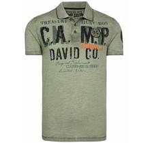 Camp David ® poloshirt gemaakt van slubgaren met artwork
