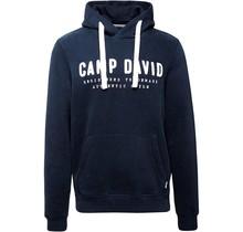 Camp David ® hoodie met groot geborduurd logo
