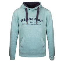 Weirdfish Branded Hoodie, Ivy