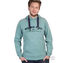Hoodie met Weirdfish-logo, Ivy