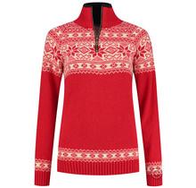 Noorse dames trui in Setesdals-design van 100% zuivere wol
