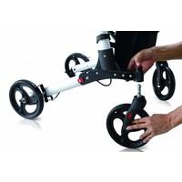 Lichtgewicht Rollator Compact, dit is de kleinst opvouwbare rollator.  Koop nu:  aanbieding!