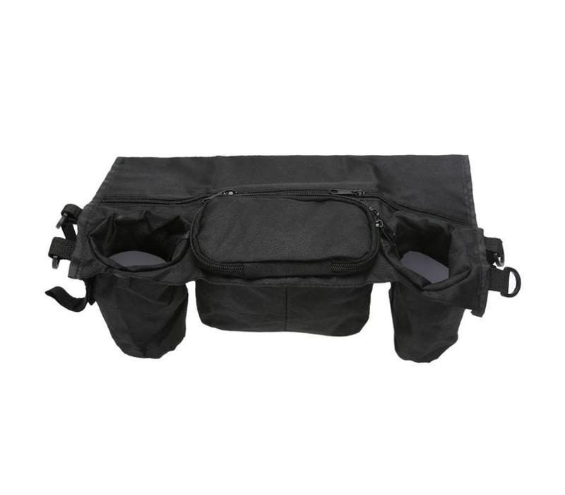 Organizer bag, to attach on a walk assist, wheelchair or rollator