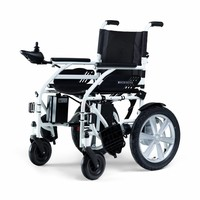 Electric wheelchair Basic-E, foldable, Lithium battery