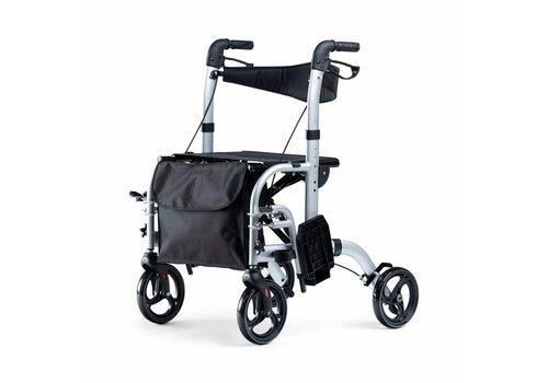 Mobinova Opvouwbare Rollator Dual,  tevens Transportstoel