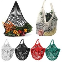 mesh shopping net,  cotton,  to use on a  rollator or wheelchair