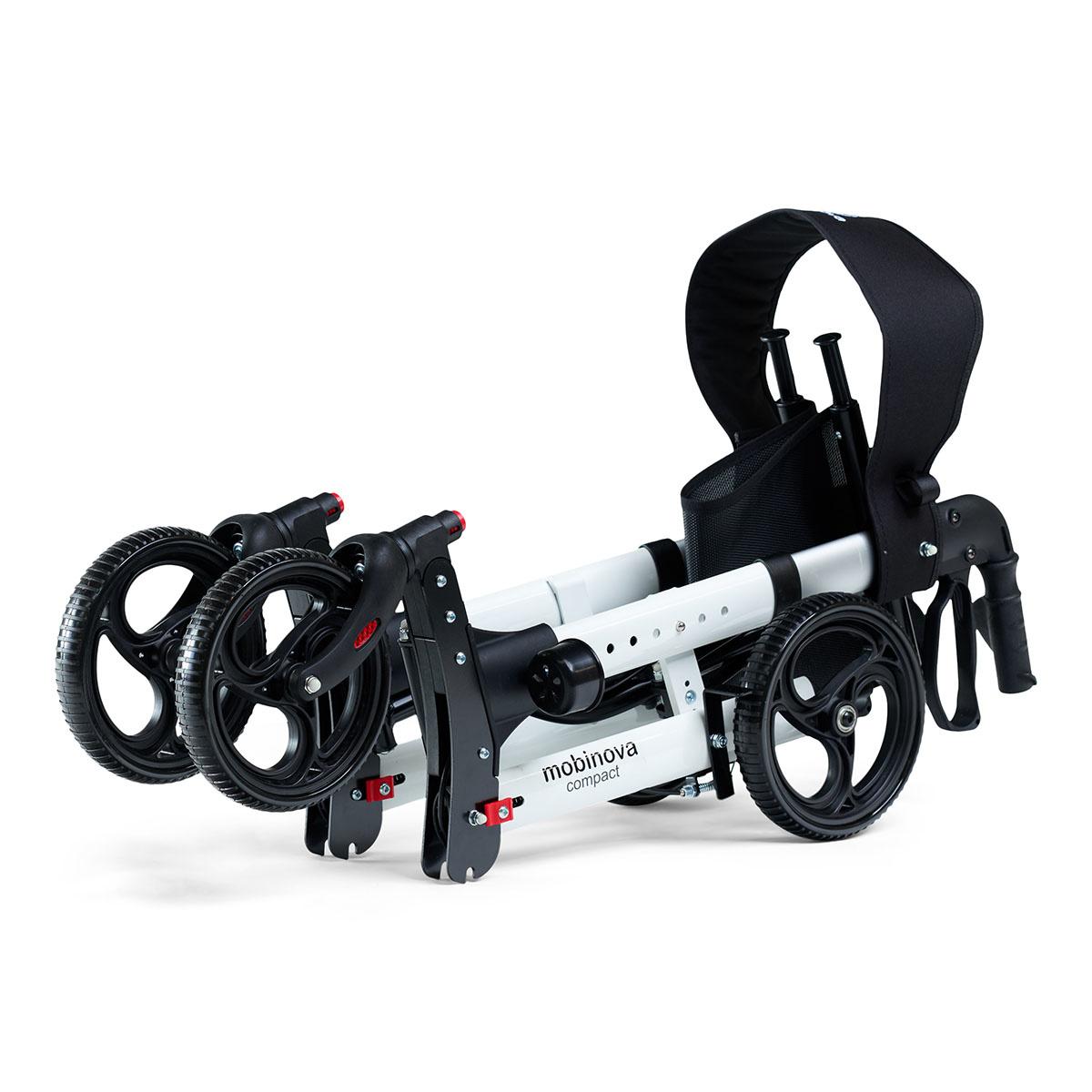 mobinova_rollator  compact wit 2x folded